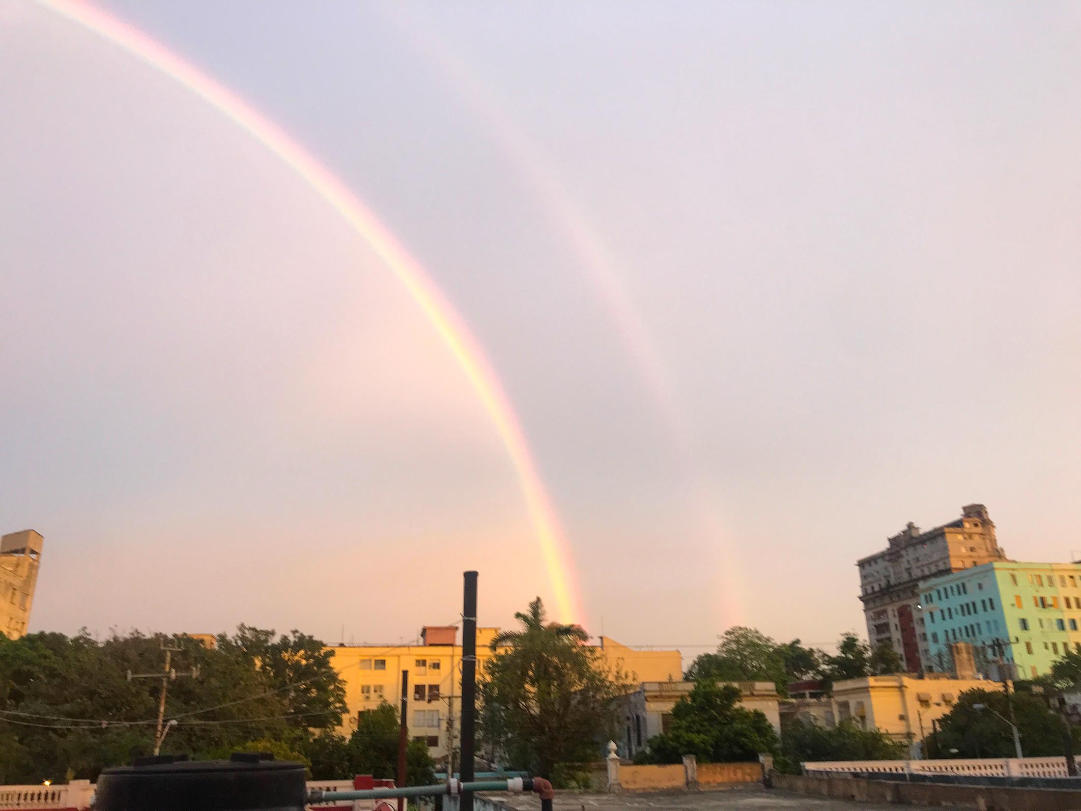 cuba photo diary rainbow