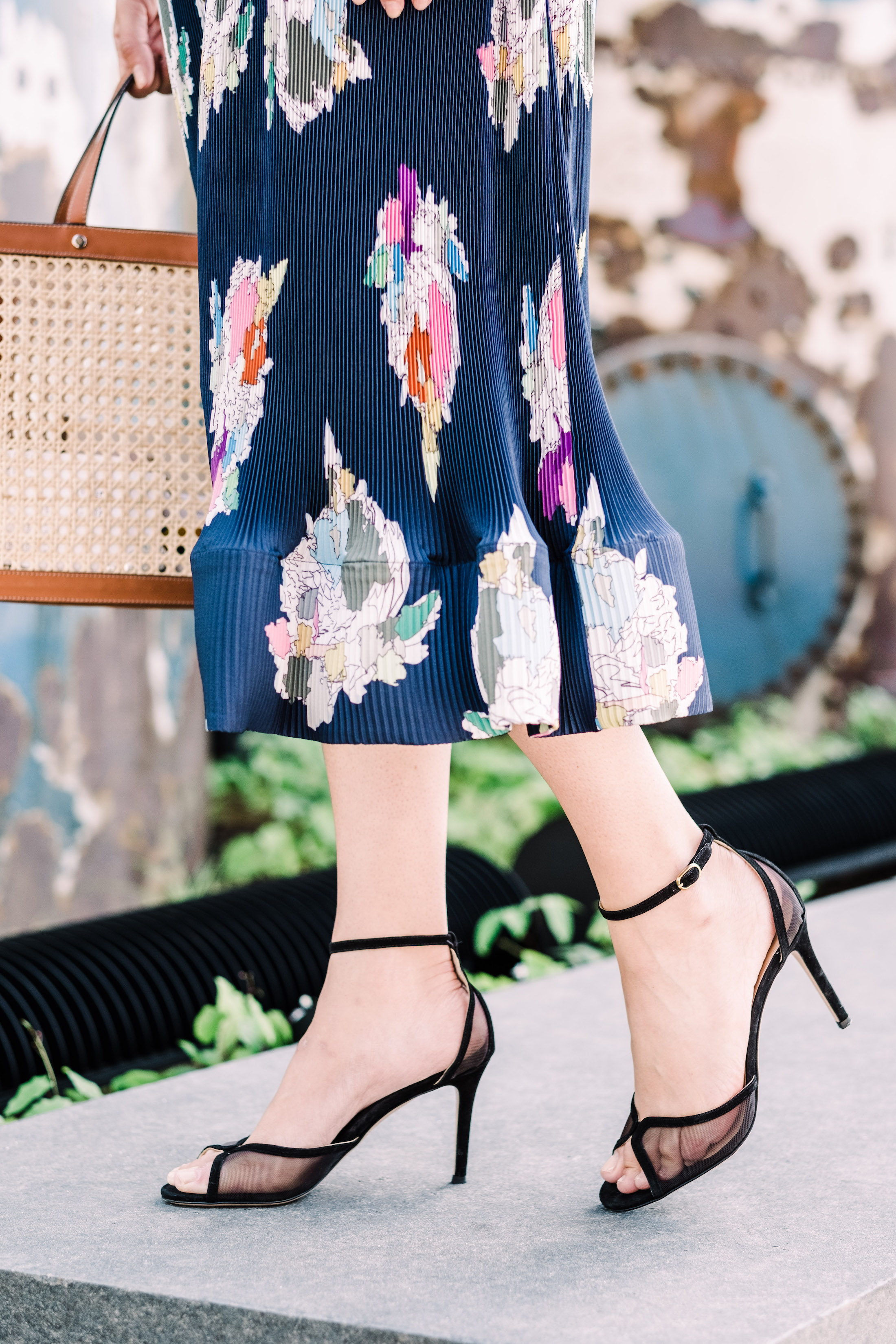 MARION PARKE Lolita Sandal in Black