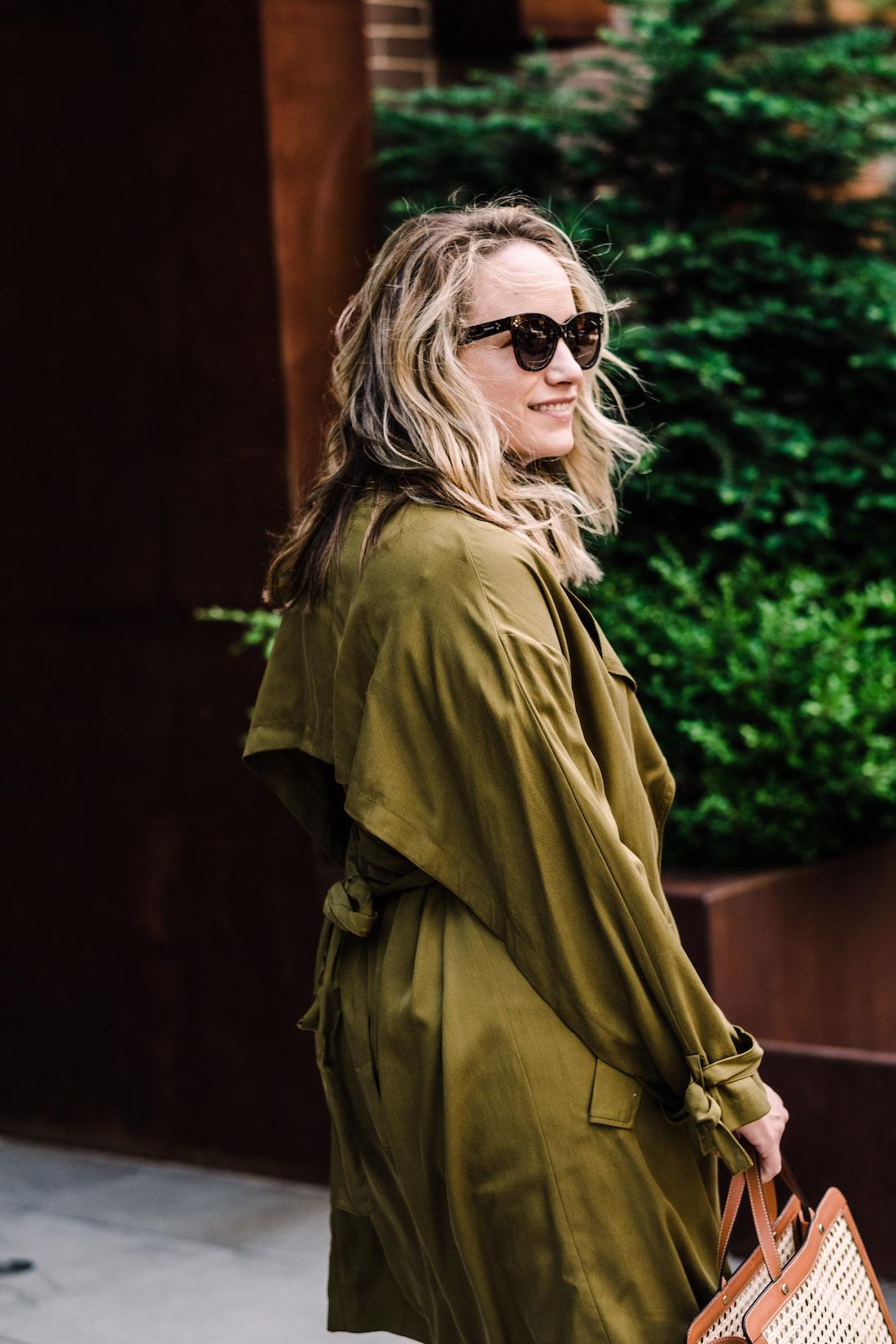 The Stripe -Topshop Jacket // Palmgrens Bag // Polaroid Sunglasses