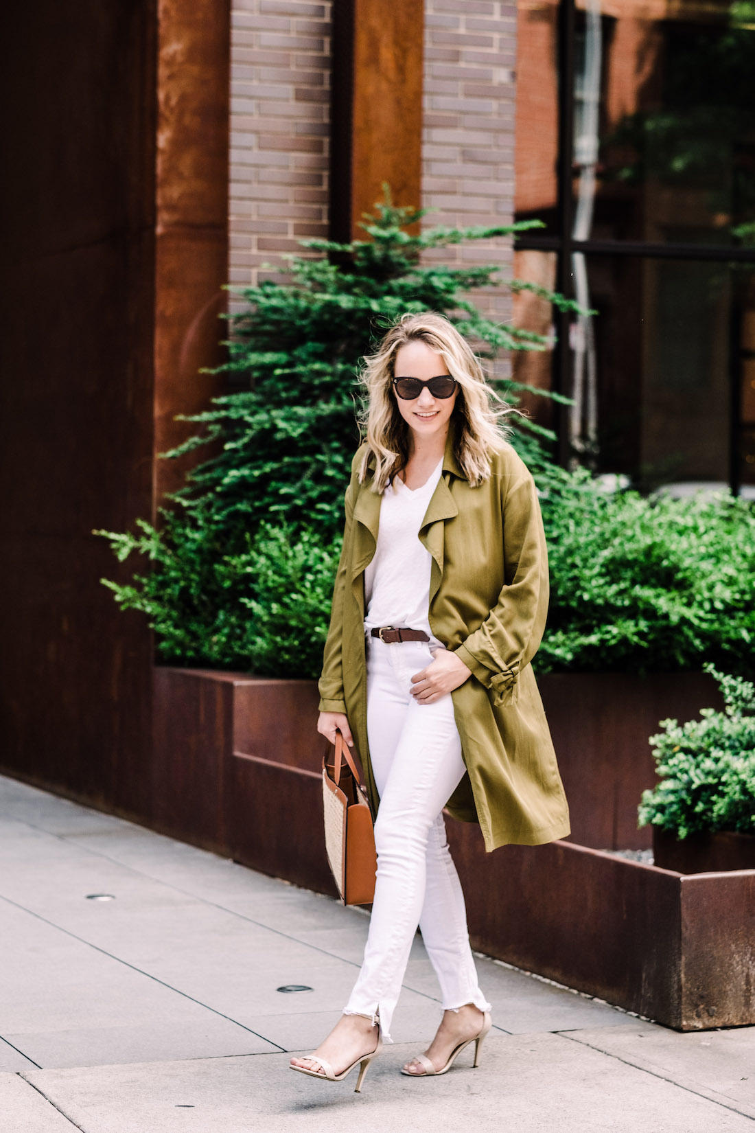 topshop lightweight trench featured