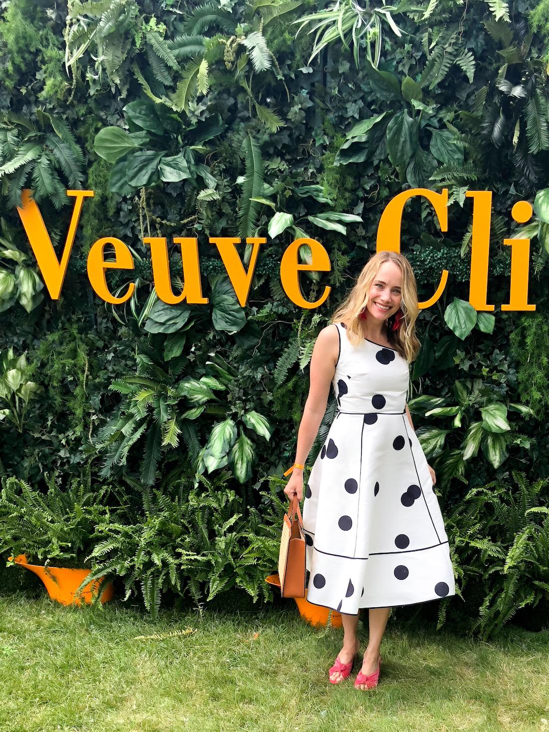 Grace in the Veuve Clicquot Polo Classic 2018 - The Stripe