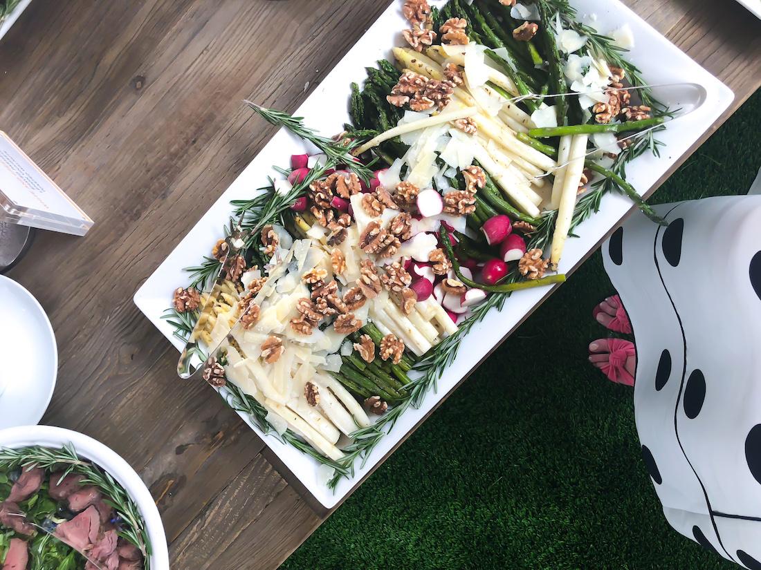 appetizers in the Veuve Clicquot Polo Classic 2018 - The Stripe