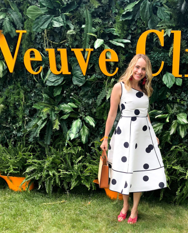 Grace in the Veuve Clicquot Polo Classic