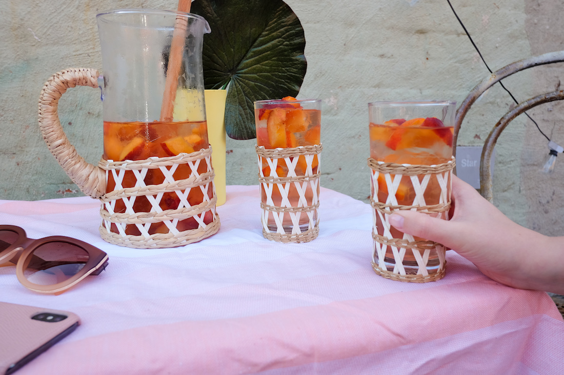 An Easy Summer Rosé Punch Recipe | The Stripe