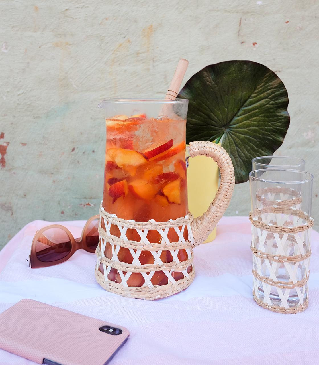 An Easy Summer Rosé Punch Recipe
