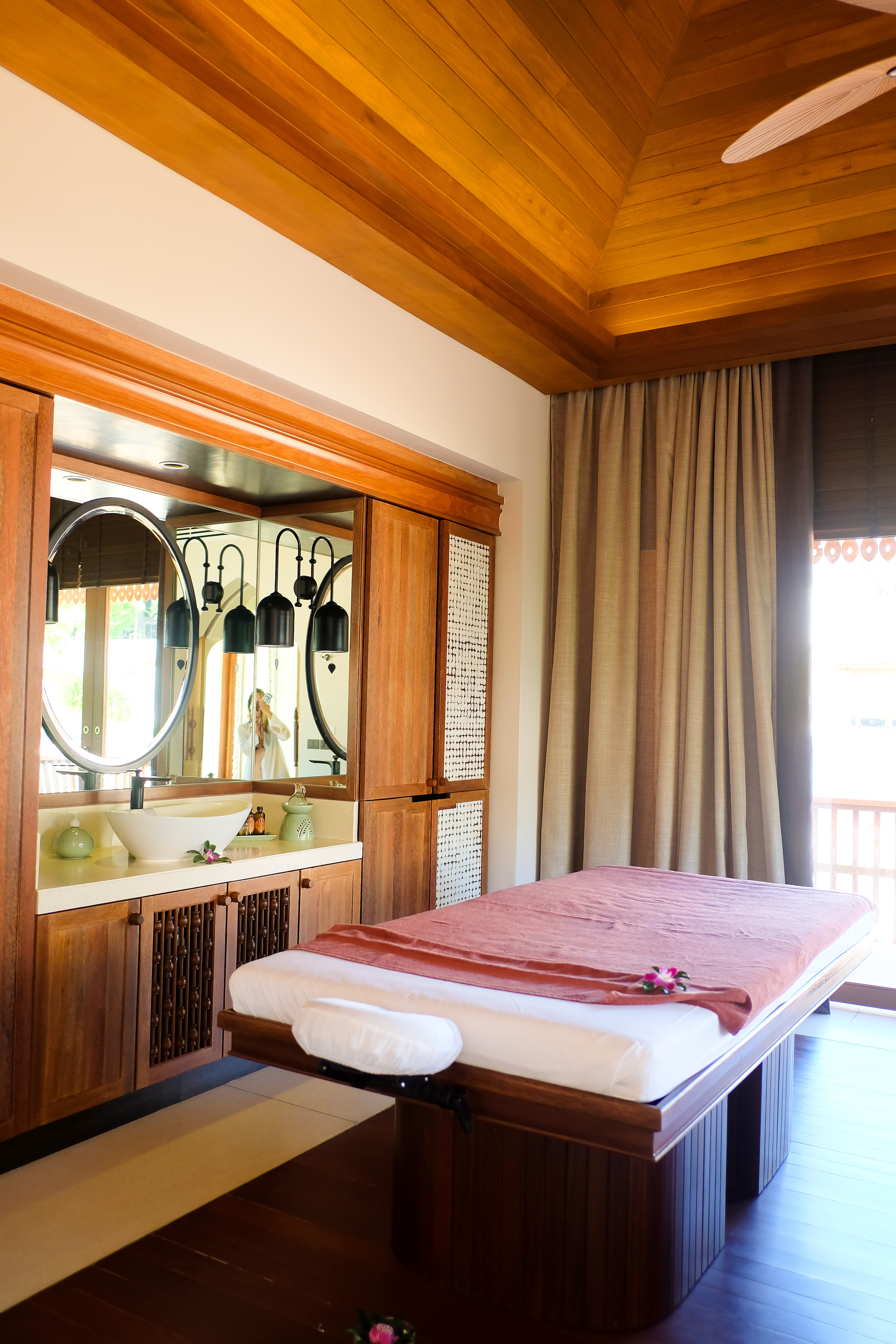 The spa at the Ritz was beyond | Koh Samui