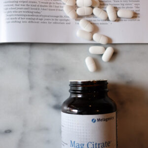 Why I Take a Magnesium Citrate Supplement.