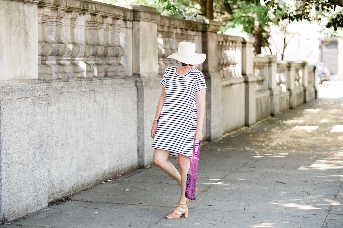 best striped dresses for summer