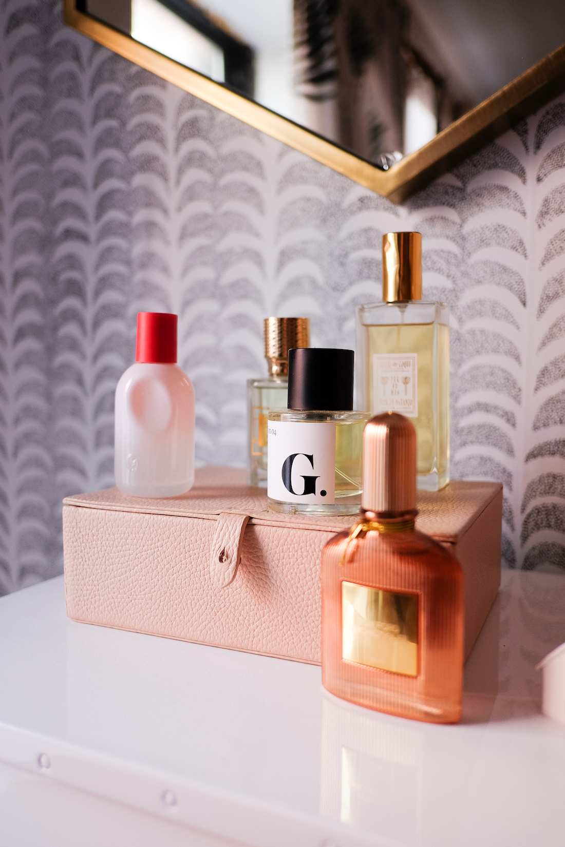 the best summer fragrances // review of glossier you perfume