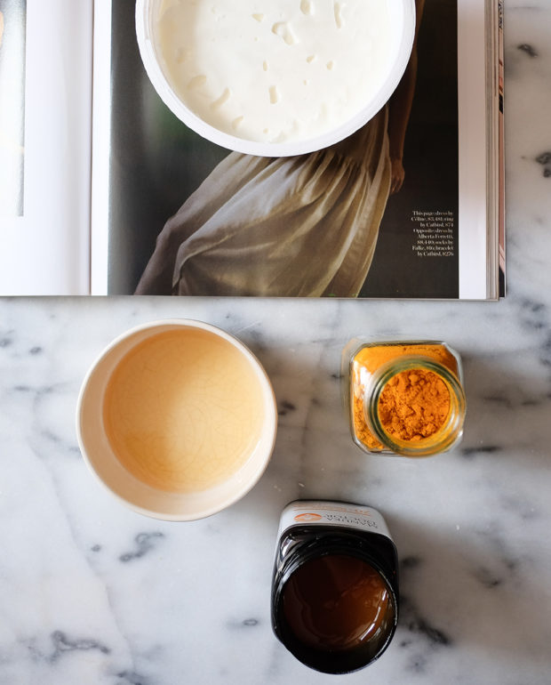 DIY Turmeric Mask Featured