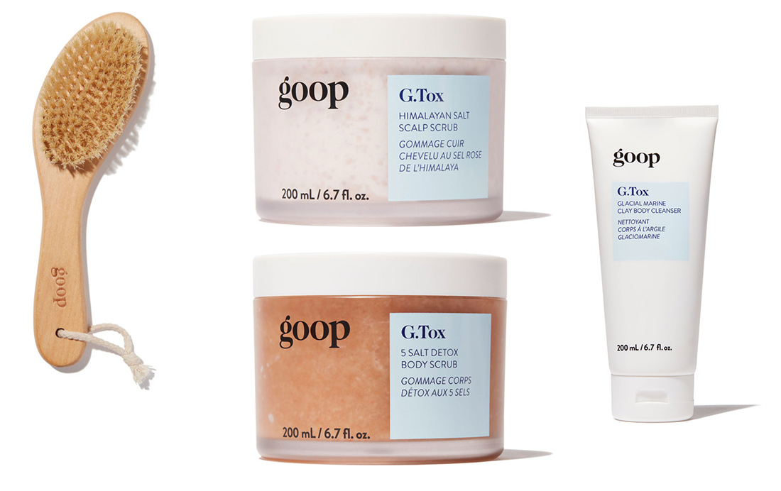goop's new body products.