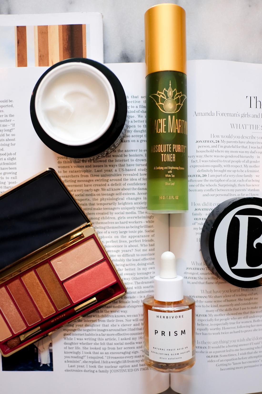 four beauty products I'm absolutely LOVING this month.
