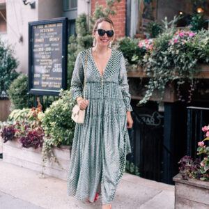 37… and a pretty velvet dress.