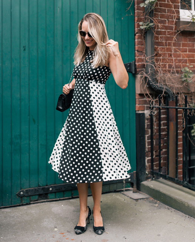 Little Polka Dot Dress by Ann Taylor