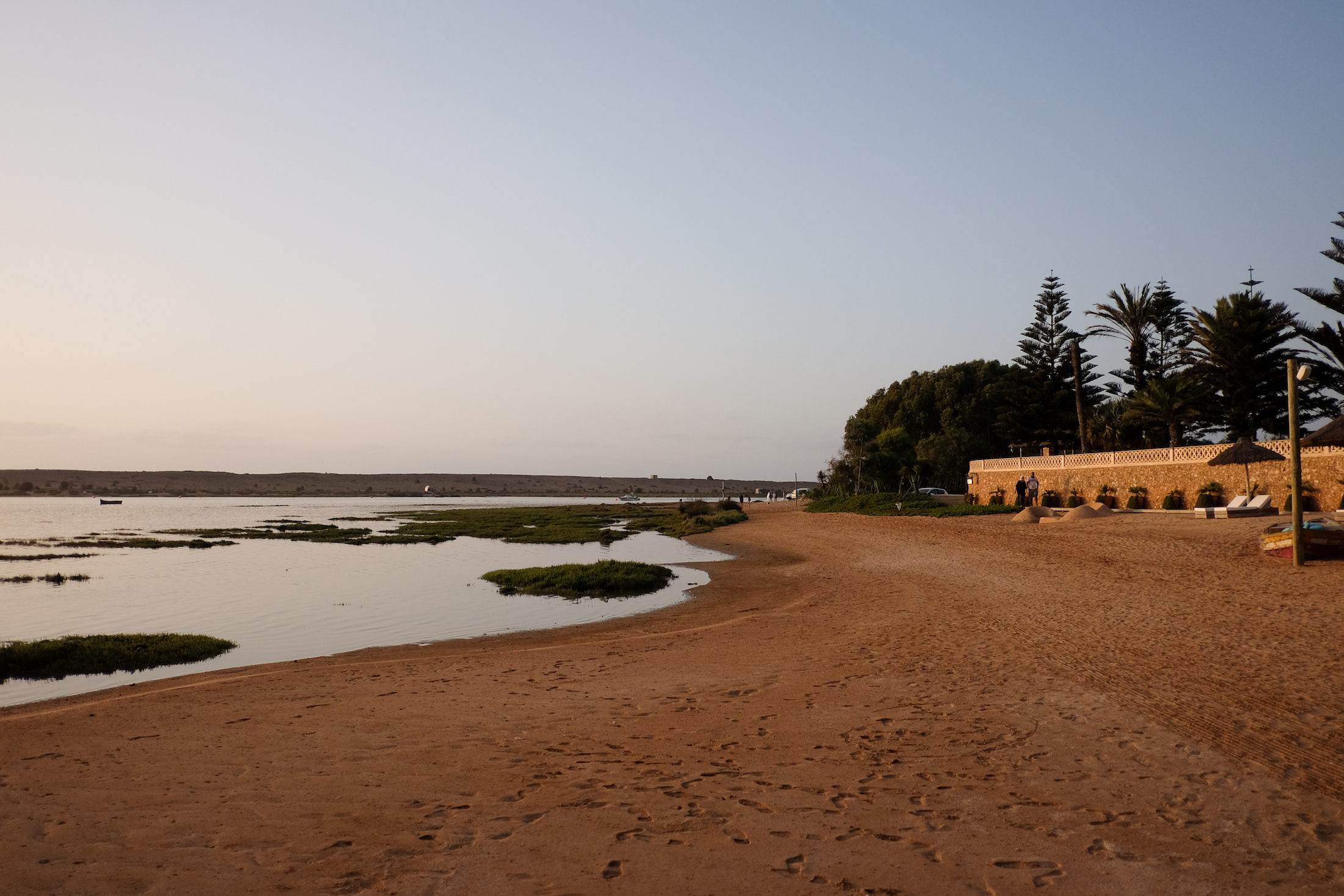 beach in morocco - la sultana oualidia