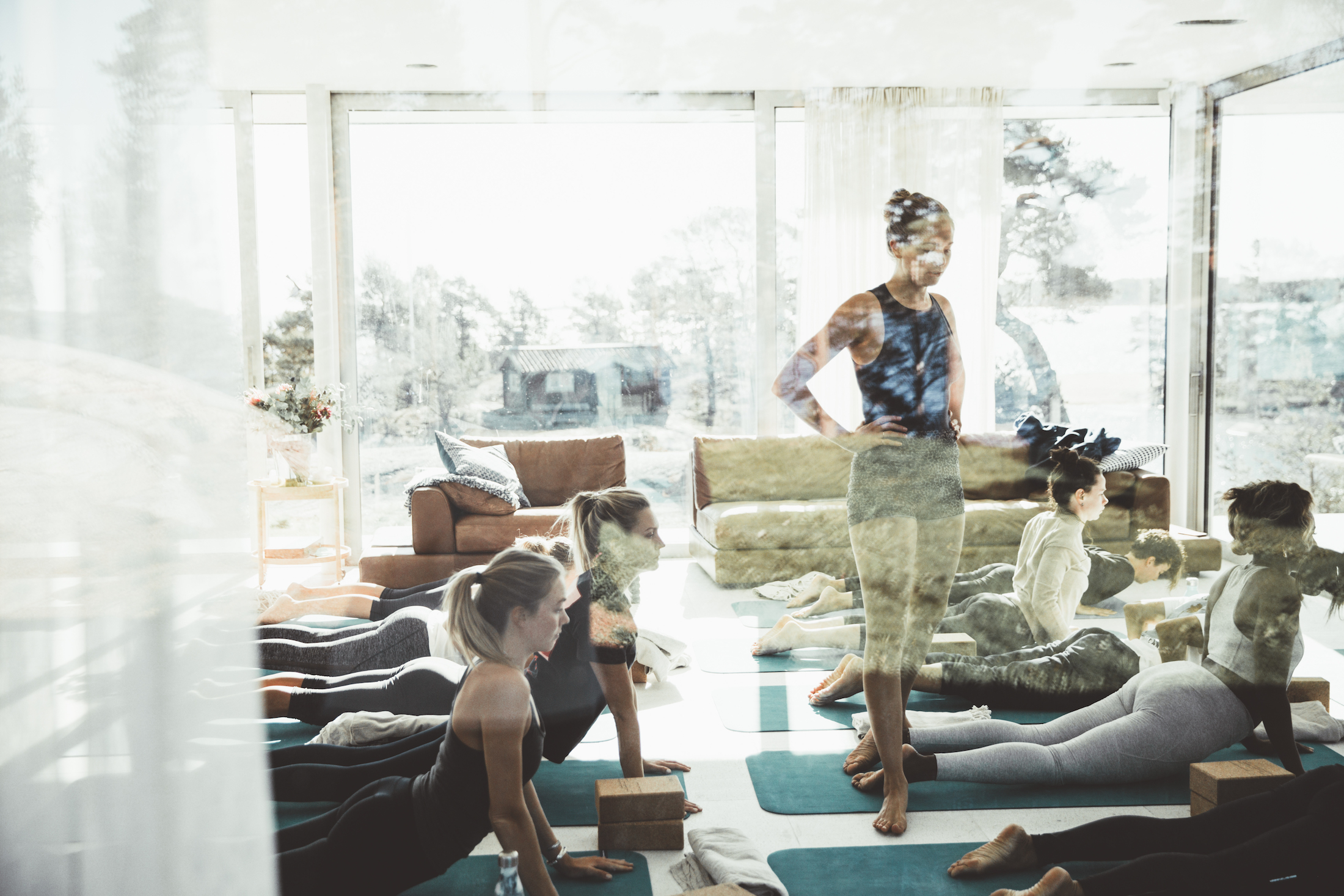 yoga retreat with six travel and sky ting yoga