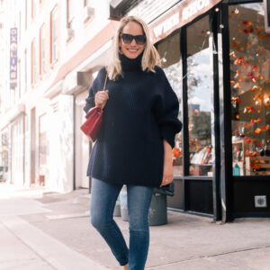 The Best Big Sweater + Thoughts About Sharing on Social Media.