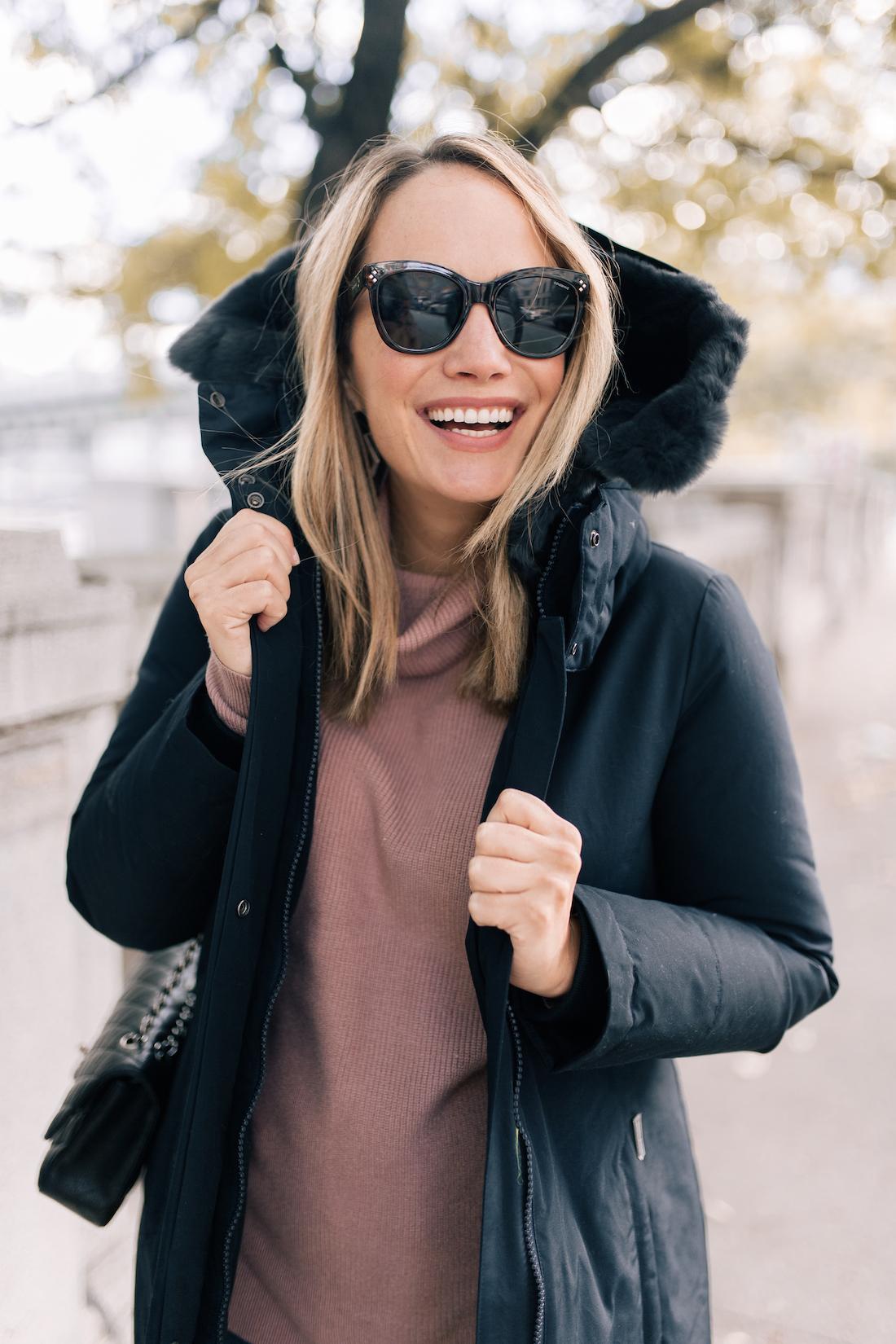 The Warmest Winter Coat & Bloomingdale''s - The Stripe