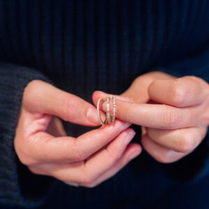 My Favorite Diamond Stacking Rings + Giveaway!