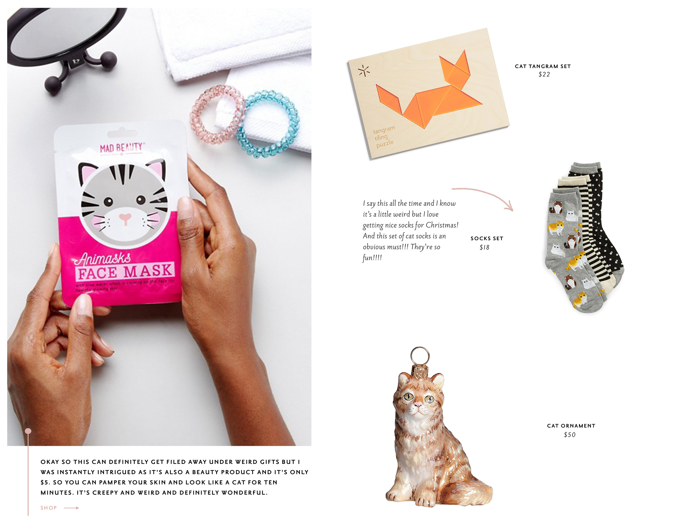 cat lady gift guide - the stripe
