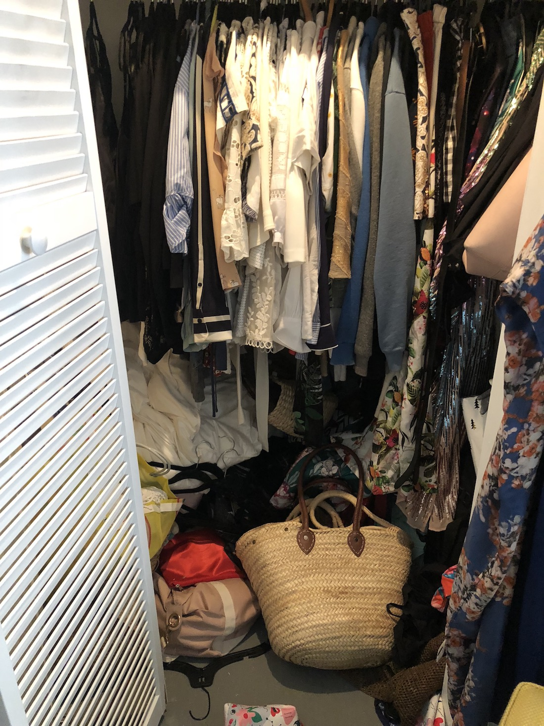 Grace Atwood Closet - Before Photo