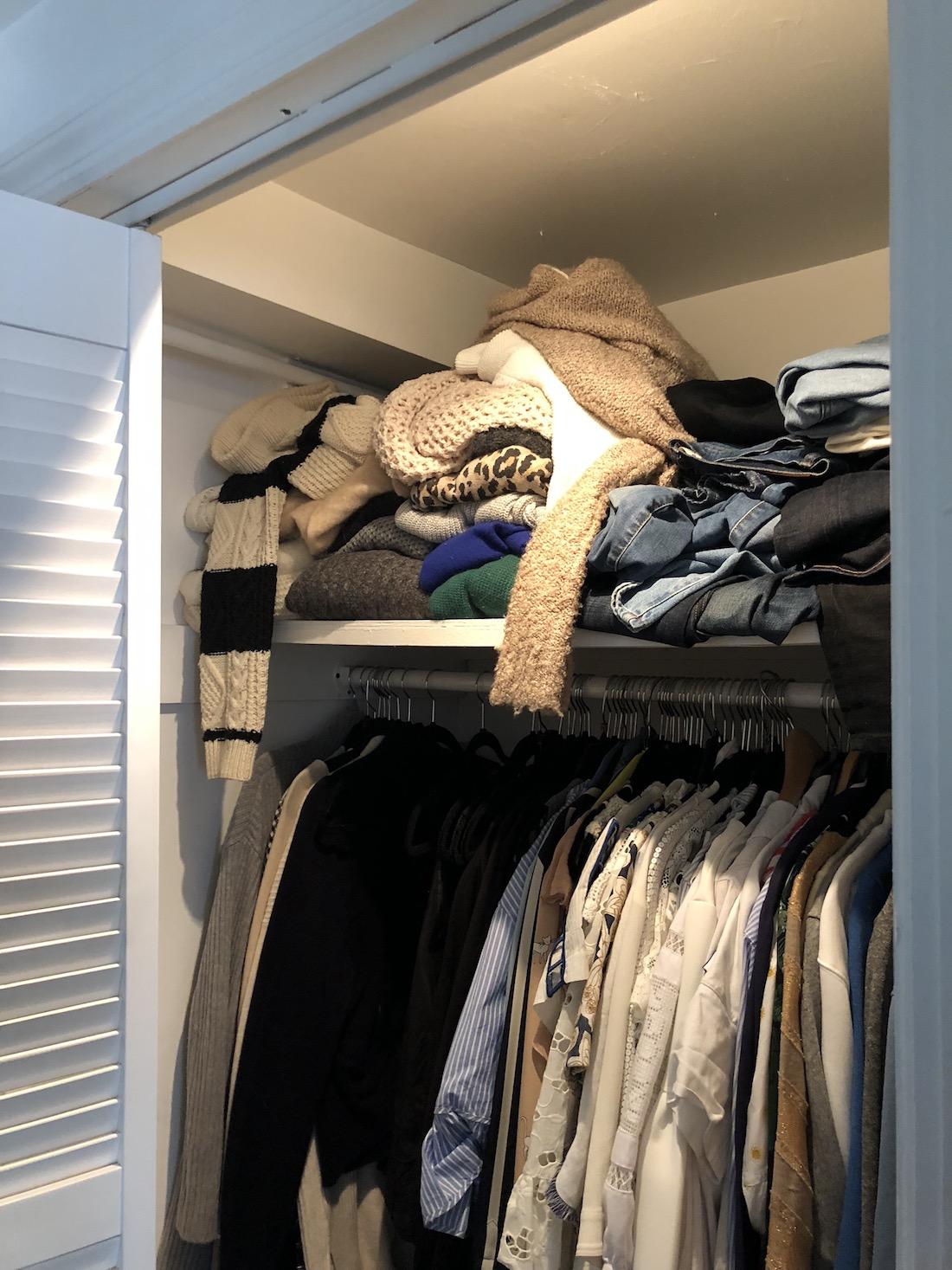 Grace Atwood Closet - Before Photo