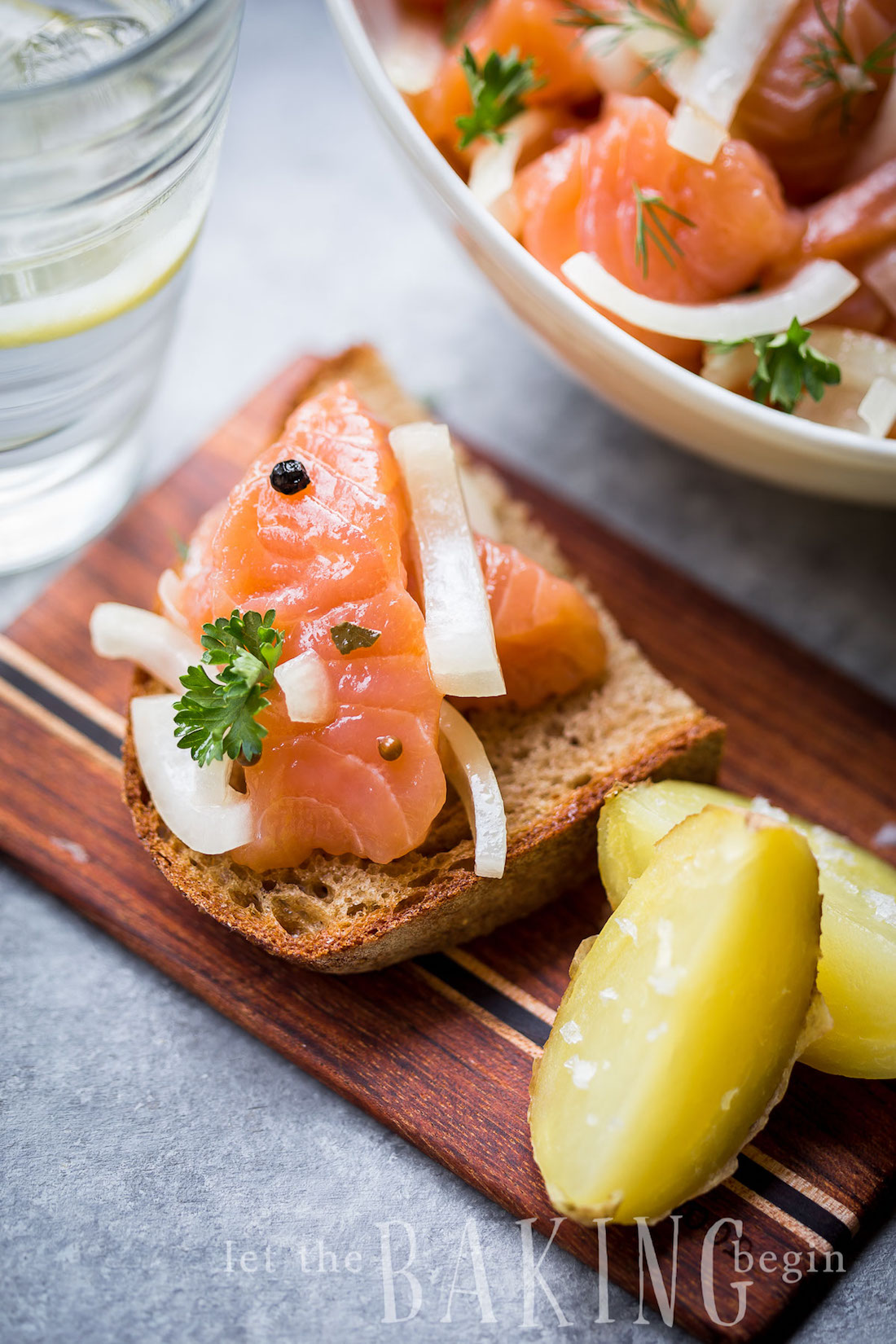 the best make-ahead holiday appetizers | salmon gravlax | the stripe