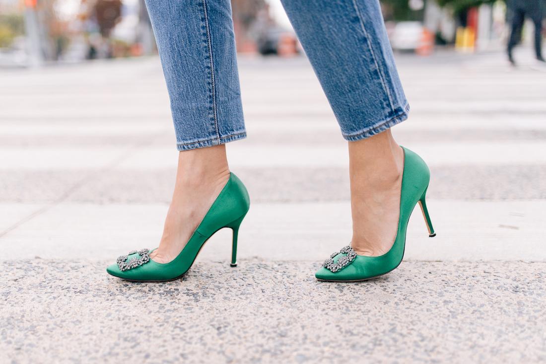 Outfit Details: Manolo Blahnik Heels