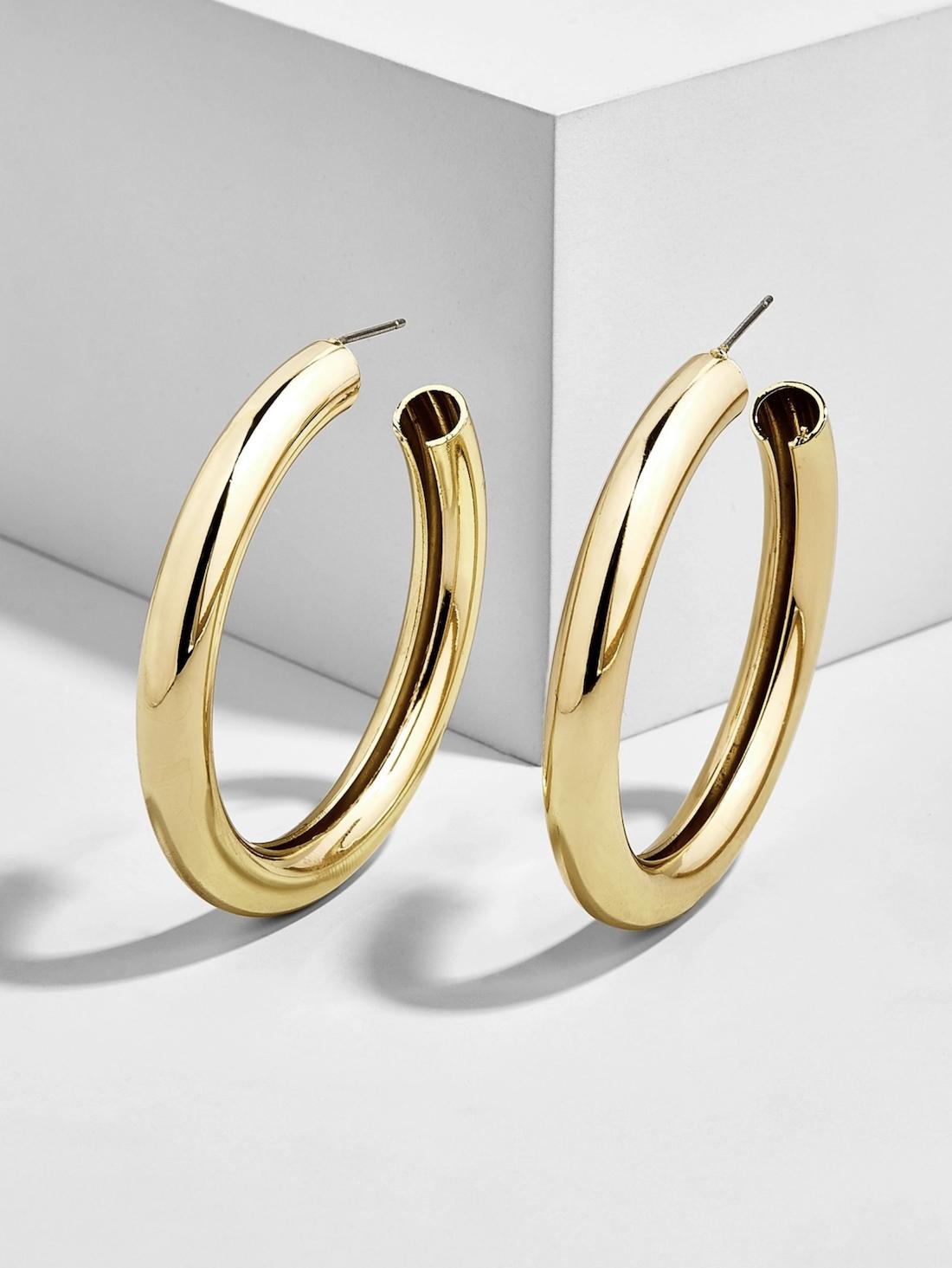 five //The best $34 gold earrings.