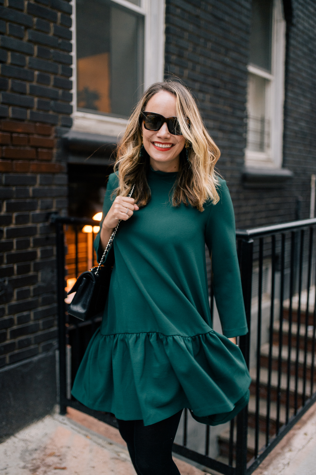 EDIT Dress (a few years old - this is almost identical, this is chic on the model and only $12 but I can't vouch for this website)