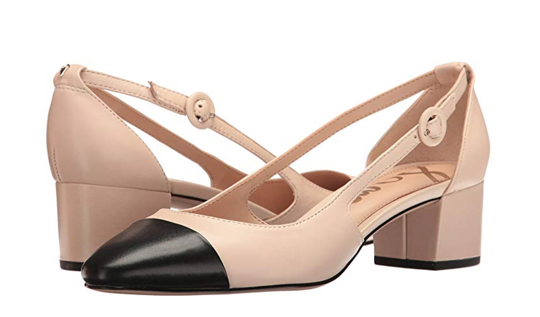four // Classic Cap Toe Heels...
