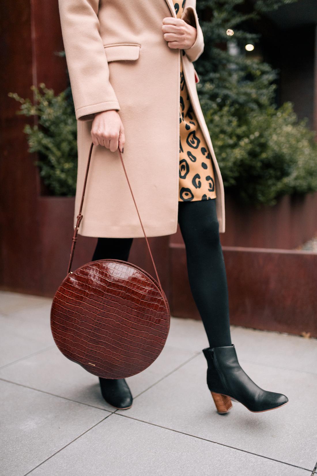 Outfit Details:  Soludos Boots & Sézane Bag