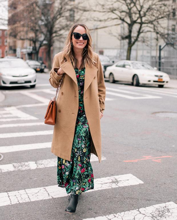 Grace Atwood - ASOS Floral Maxi Dress