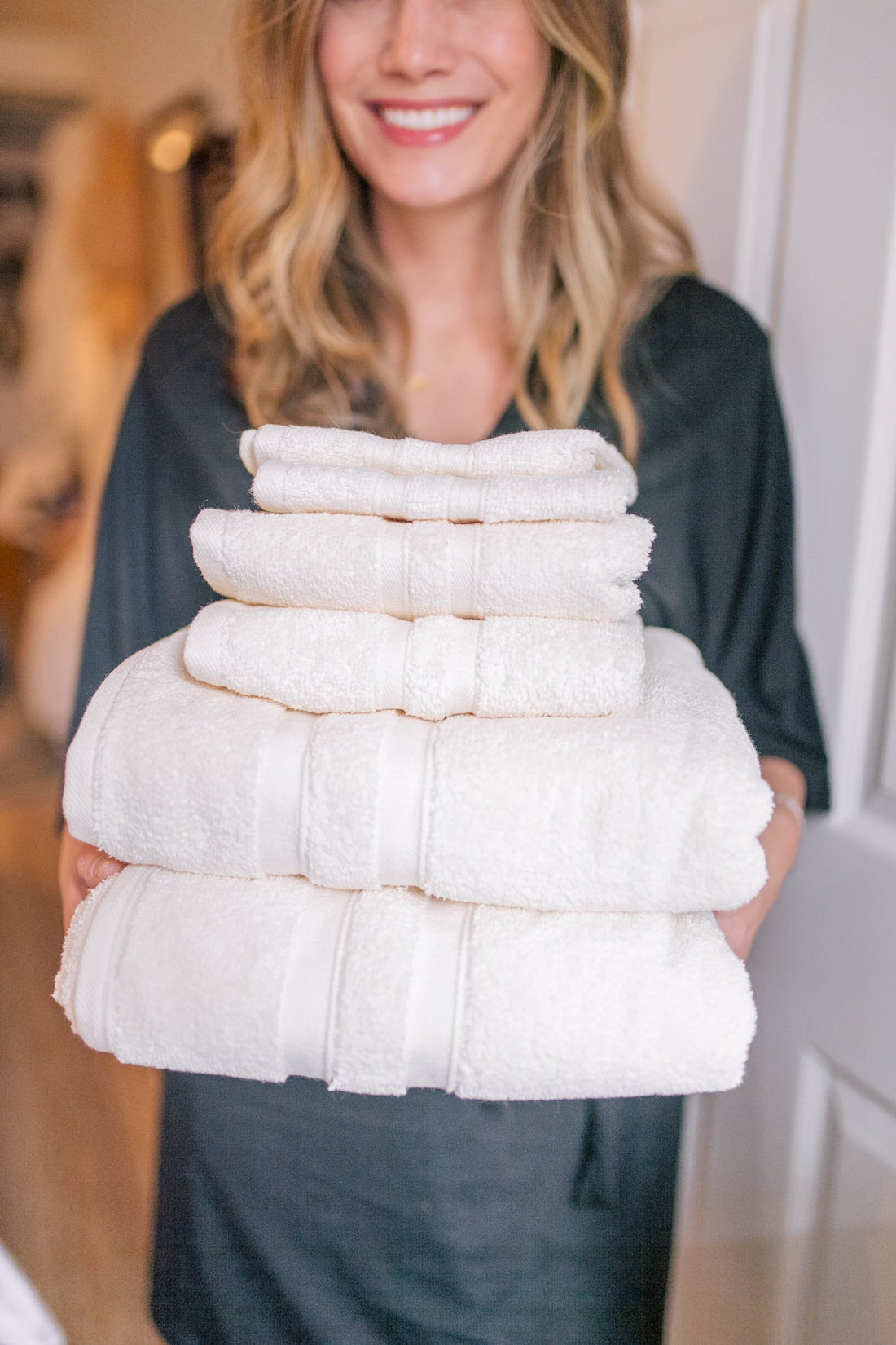 Wamsutta® Ultra Soft MICRO COTTON® Bath Towel Collection & The Stripe