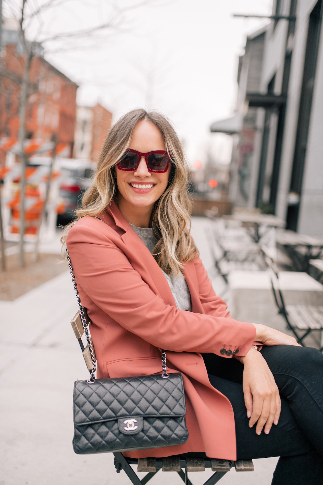 A Transitional Spring Look by Grace Atwood