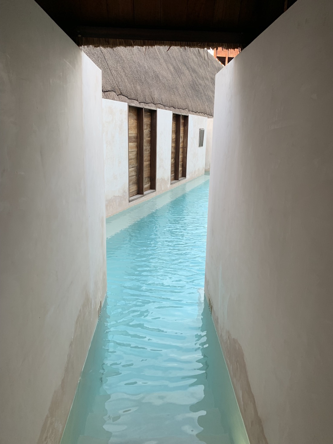 Isla Holbox rooms and pool water