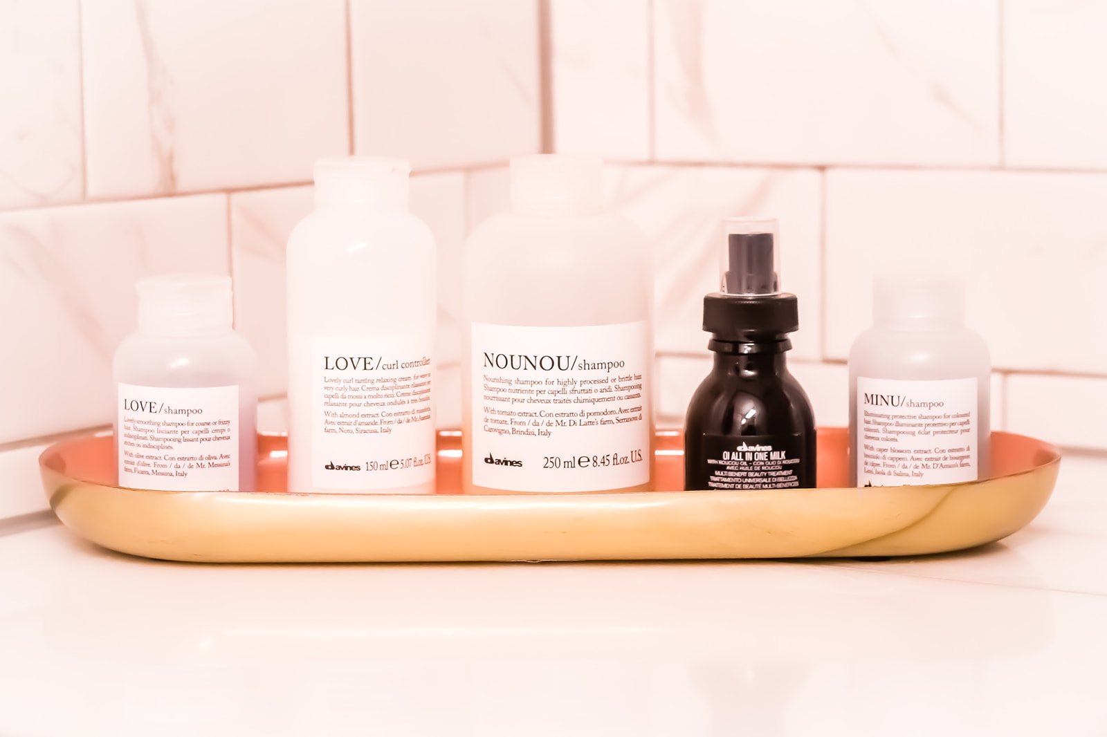 I use the Davines products for my hair every day and absolutely love them!