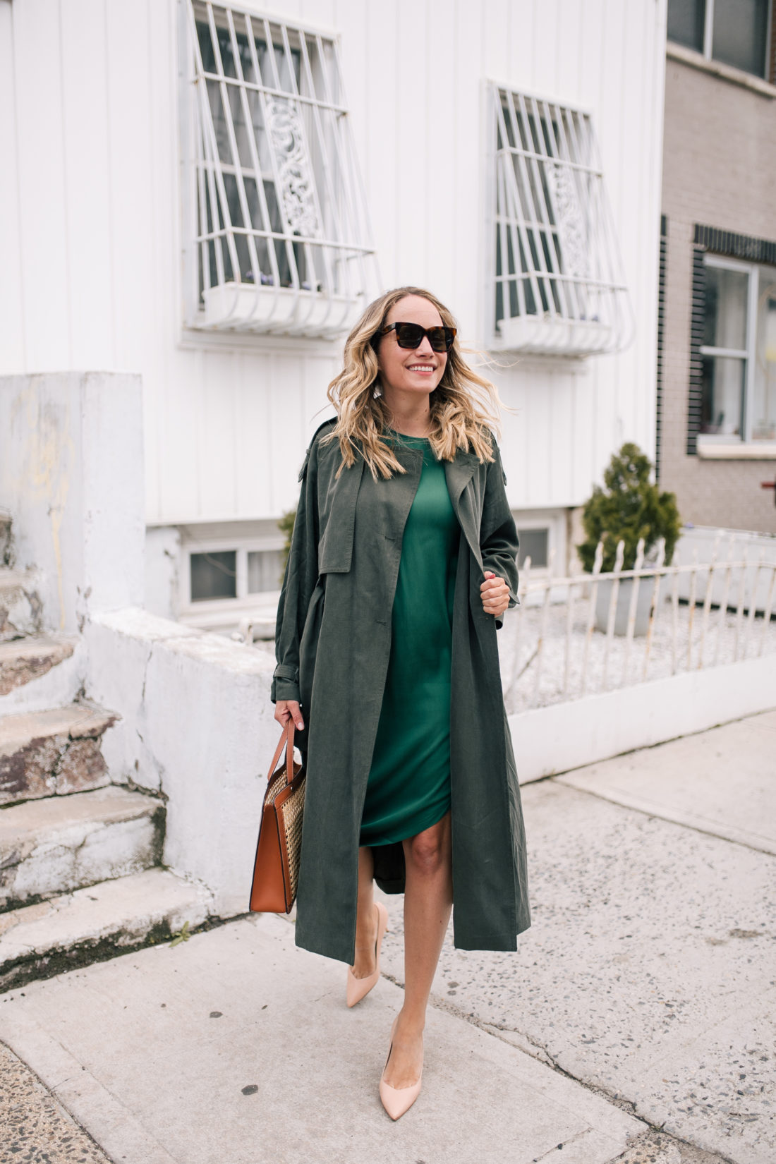 Green on Green Outfit