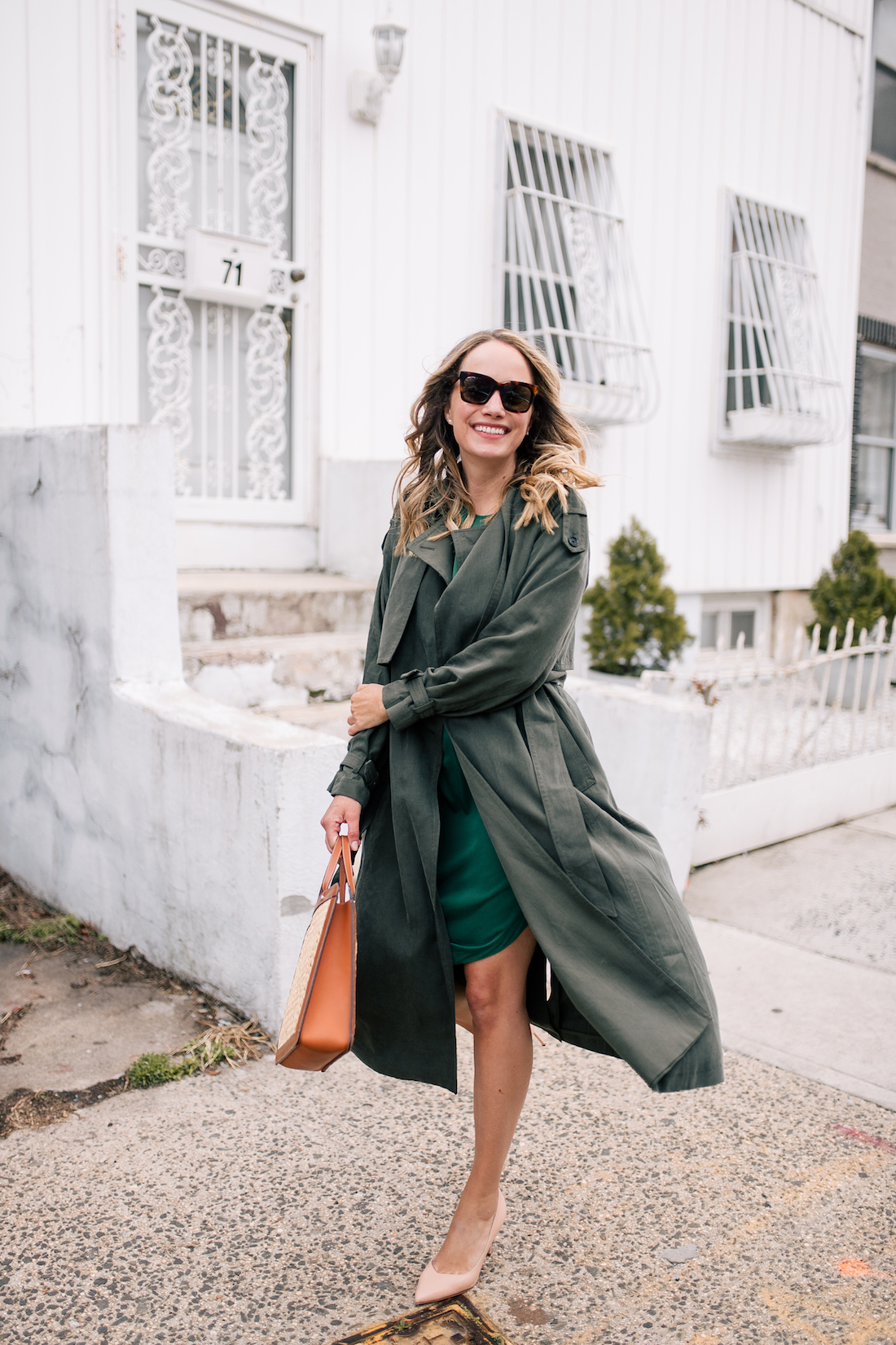 A Green Outfit on the blog