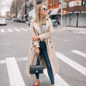 The Best Trench // Some Networking Advice.