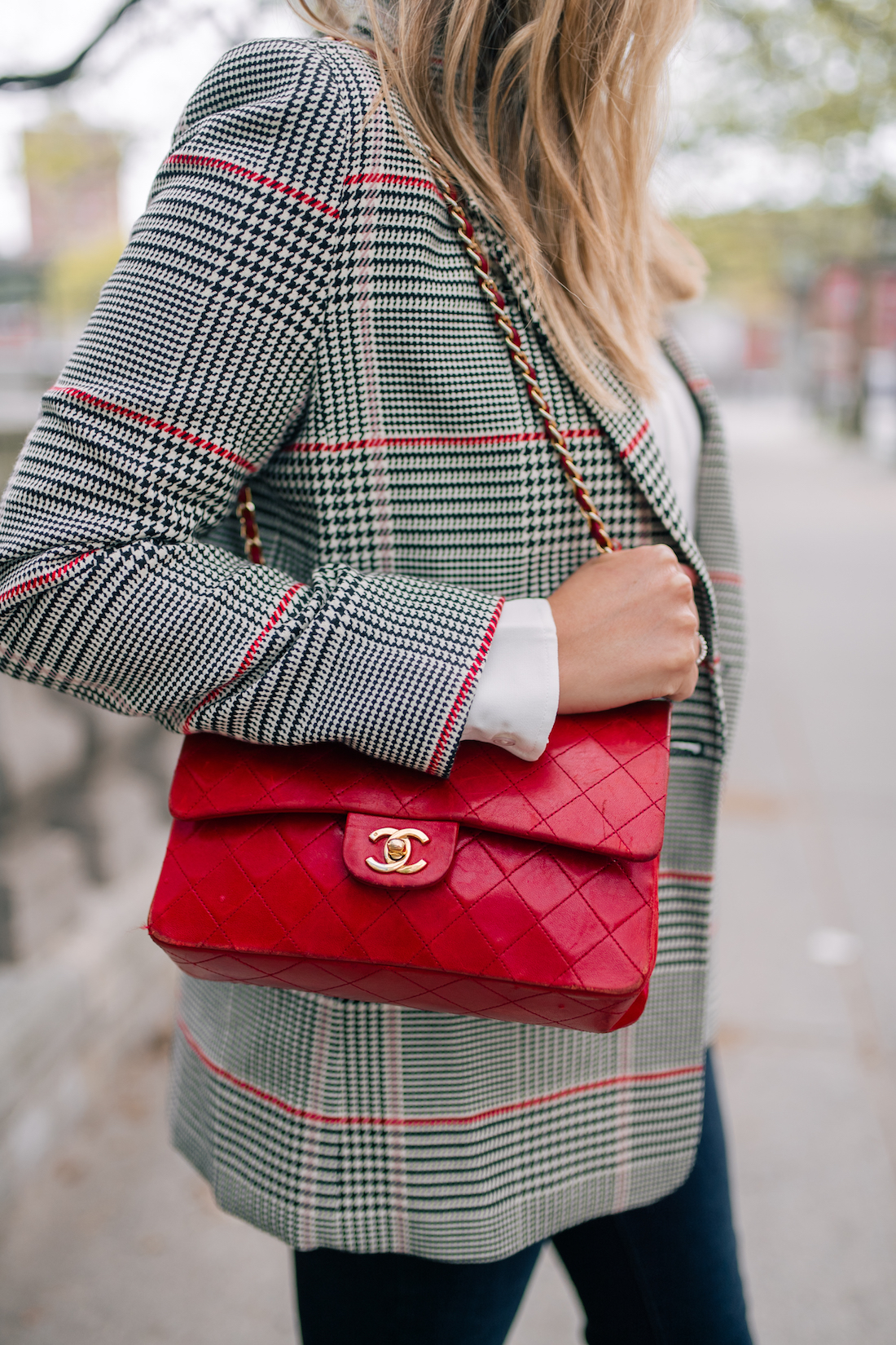 Red Chanel Bag featured