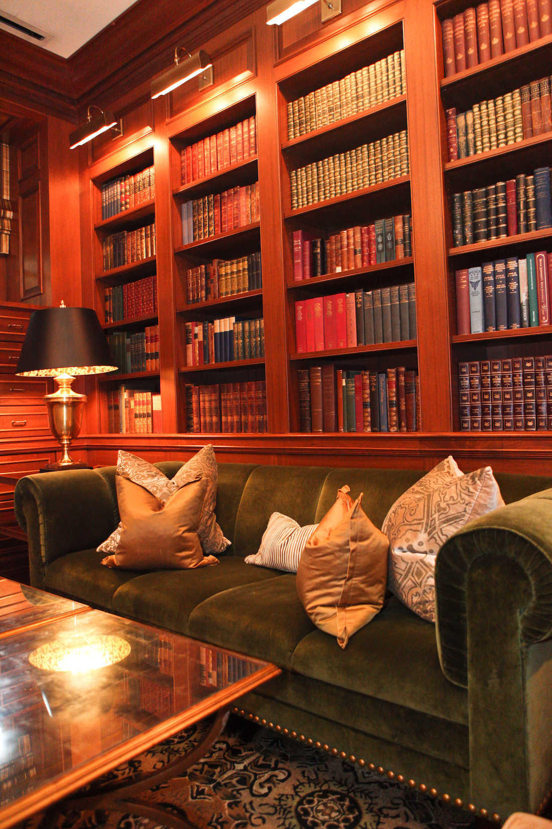 Library at The Jefferson Hotel