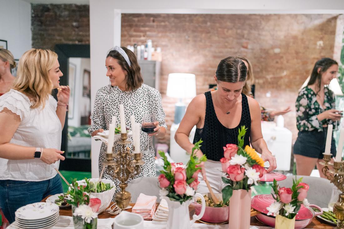 dinner party decor ideas