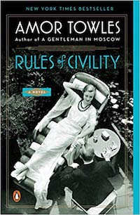 Rules of Civility, by Amor Towles