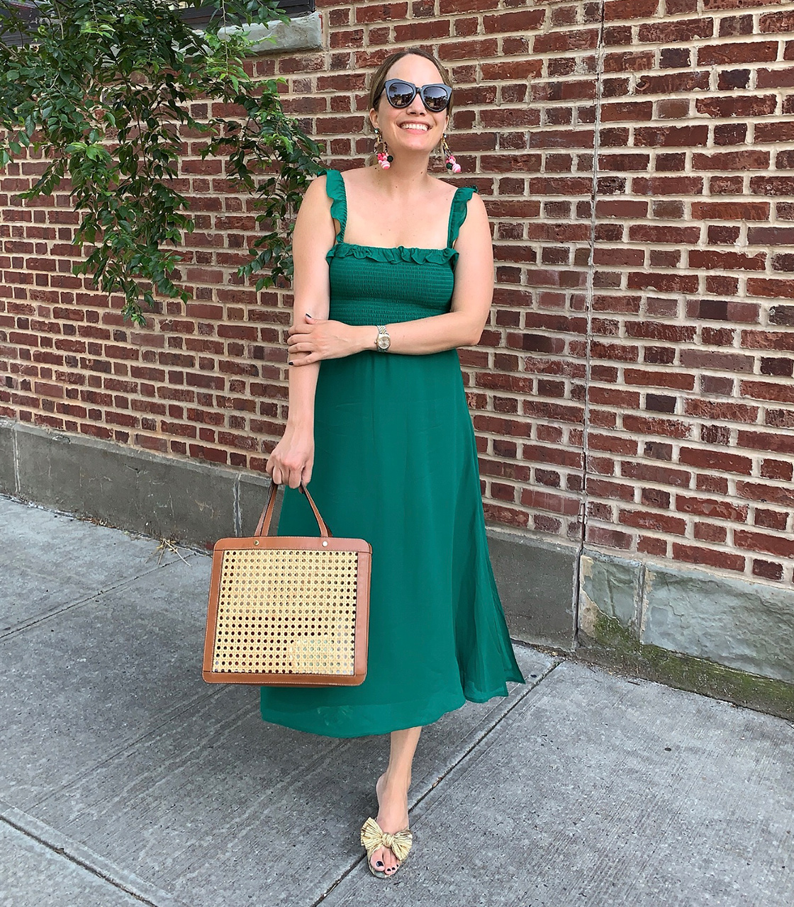 What I Actually Wore: 7.13 - 7.19 0 - green maxi dress