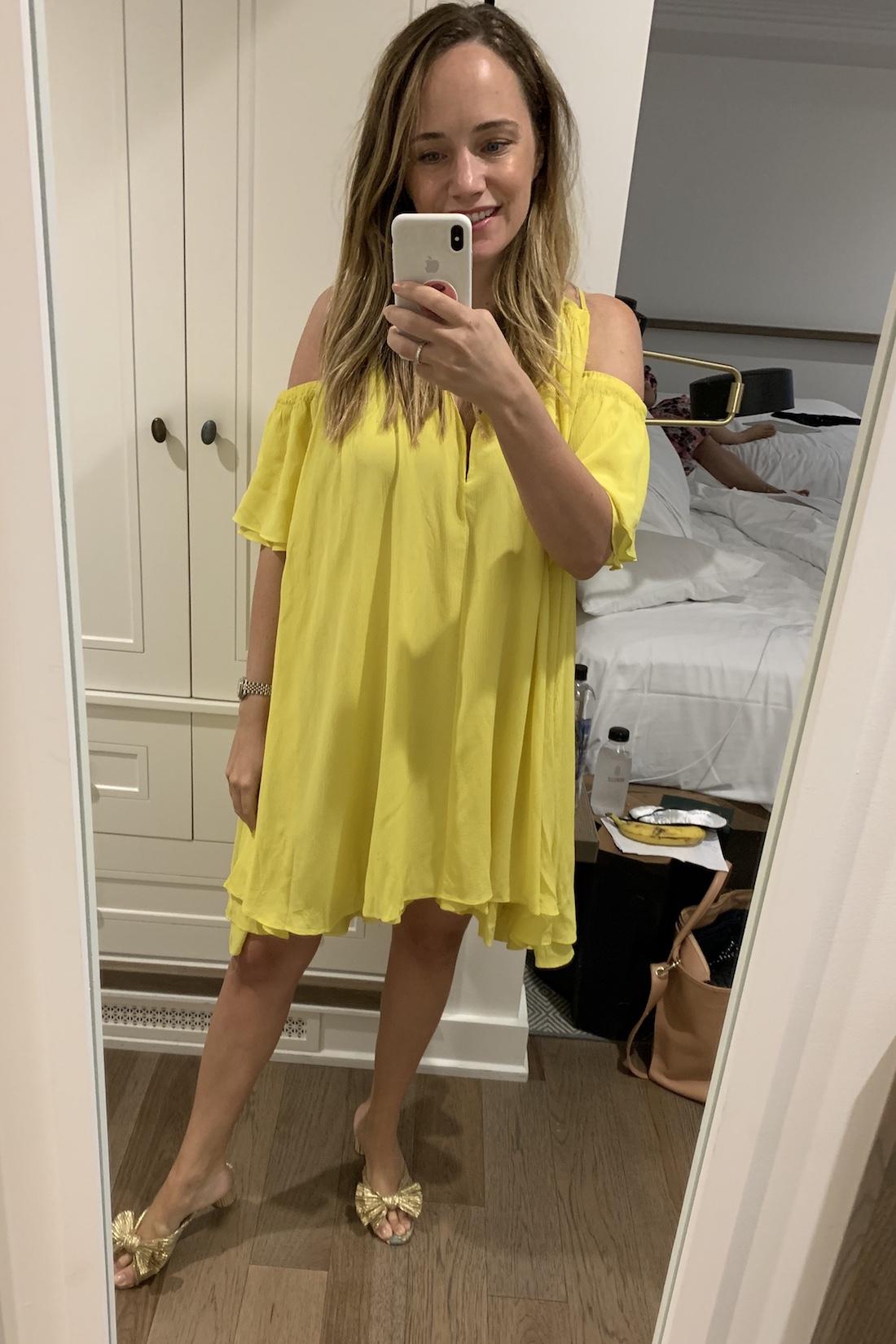 what I wore:Apiece Apart Dress