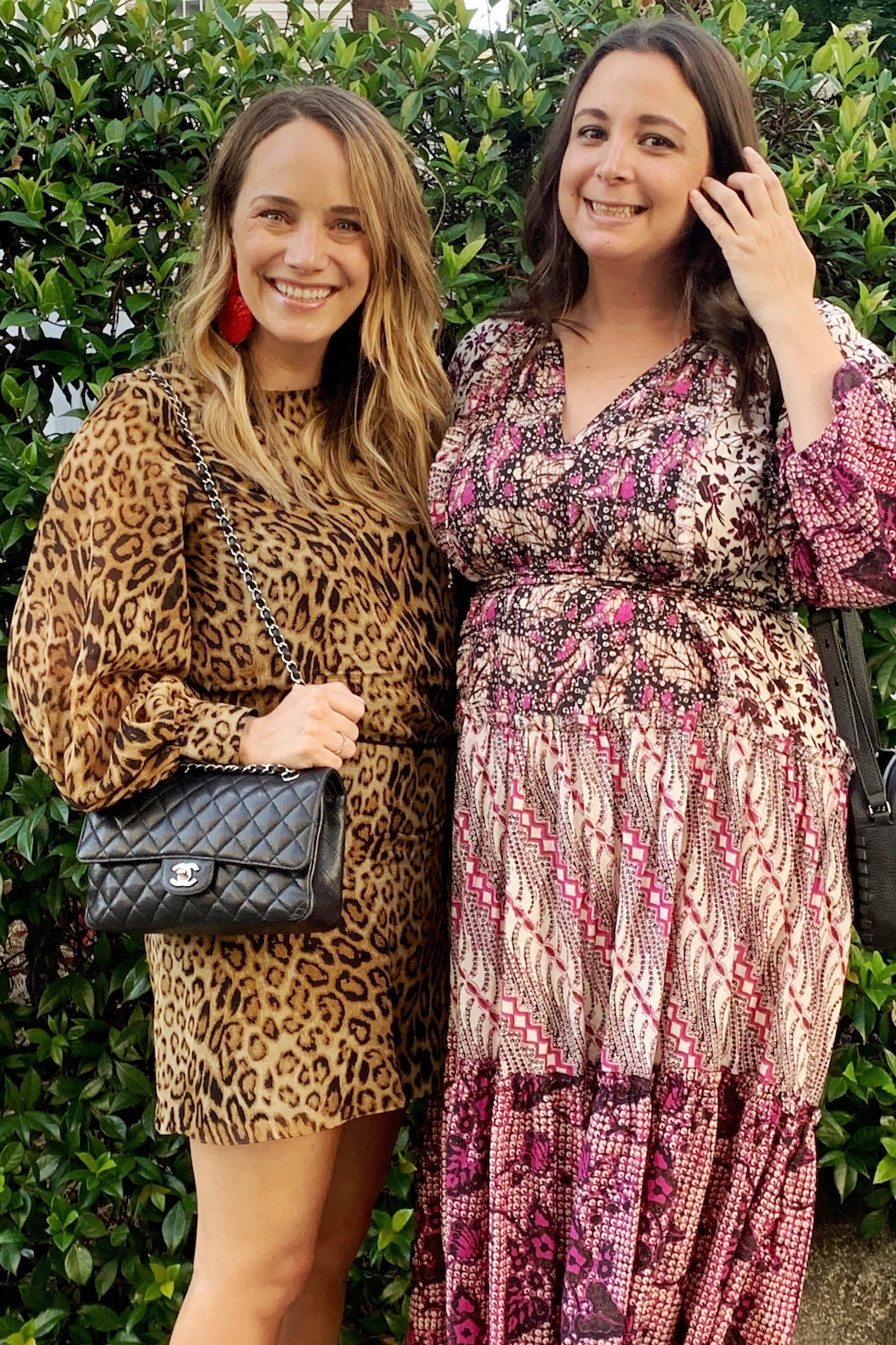 What I Actually Wore: 6.22 - 6.28. - animal print dress