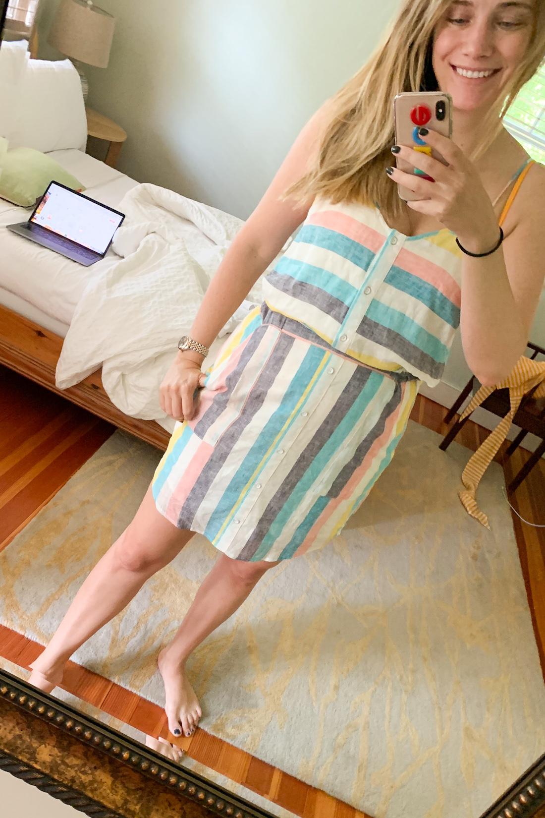 what I wore: Gray Malin x Splendid Dress
