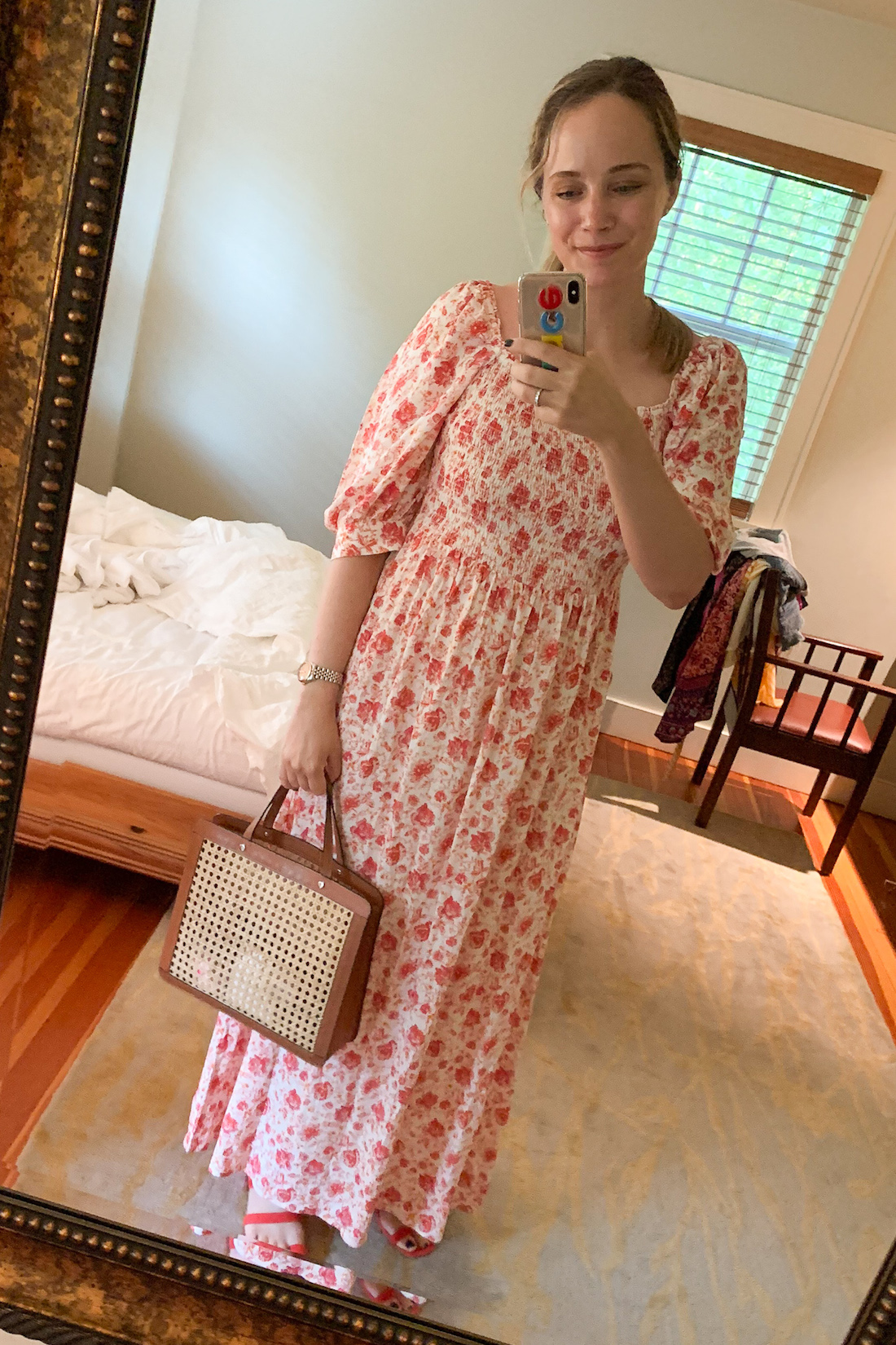 What I Actually Wore: 7.13 - 7.19 - floral dress