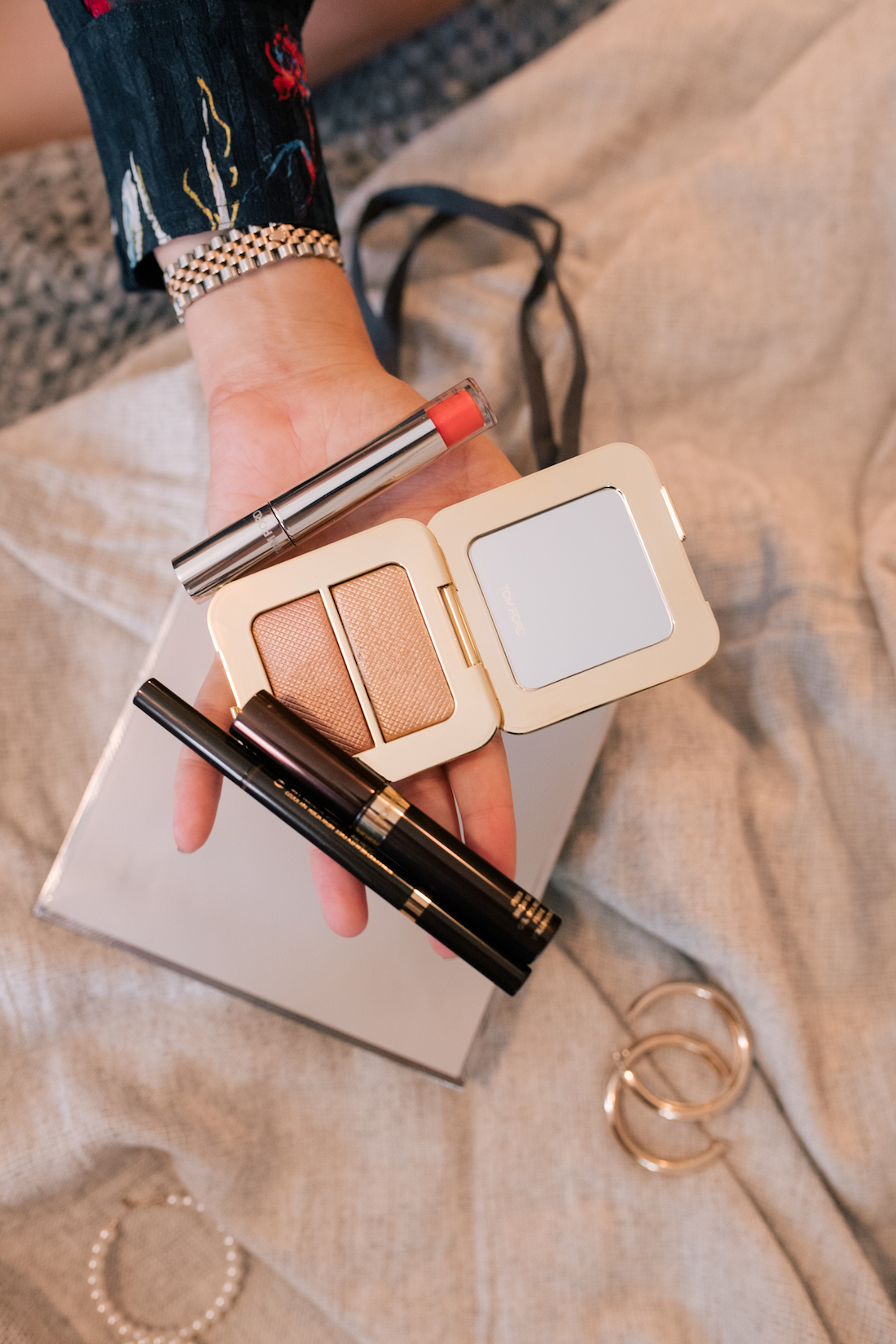 Tom Ford beauty products and lip colors